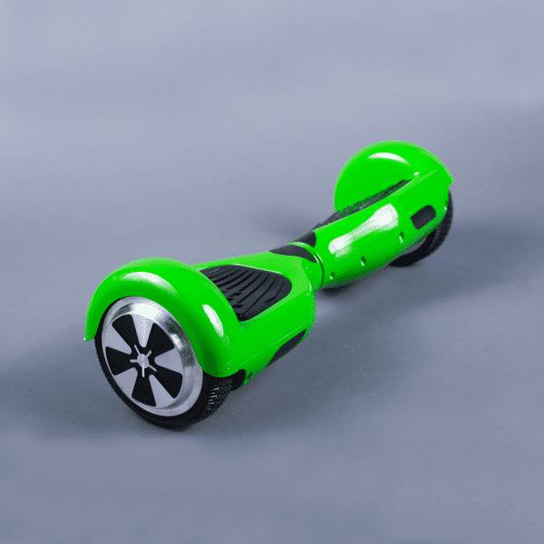 Hoverboard 6,5 zelená bočná strana