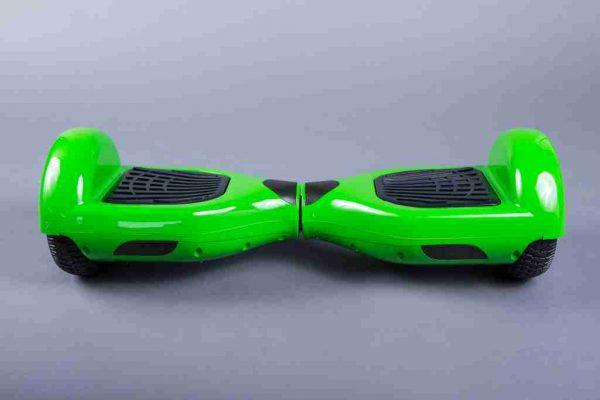 Hoverboard 6,5 zelená bočná strana predná strana