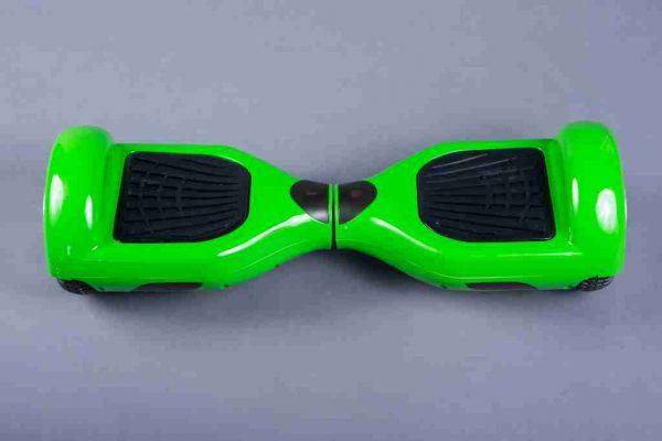 Hoverboard 6,5 zelená predná strana