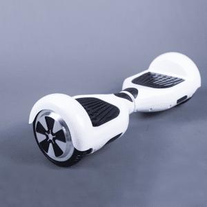 Hoverboard biela ultrascooter bočná strana