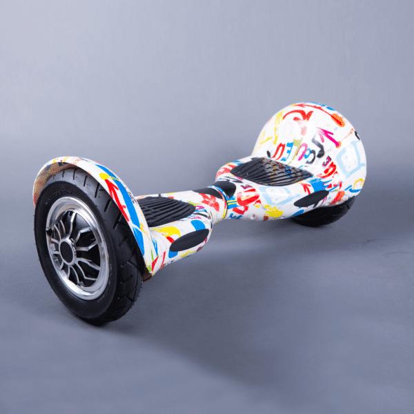 Hoverboard gyroboard offroad 10 crazy bočná strana