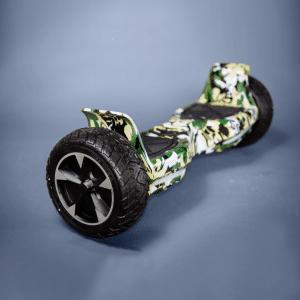 Hoverboard maskáčová vojenská 8,5 bočná strana