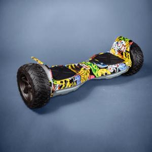 Hoverboard offroad kolonožka grafitti bočná strana