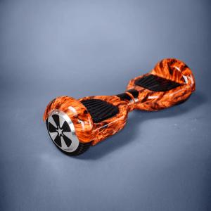 Hoverboard ohňová 6,5 palcová kolonožka bočná strana