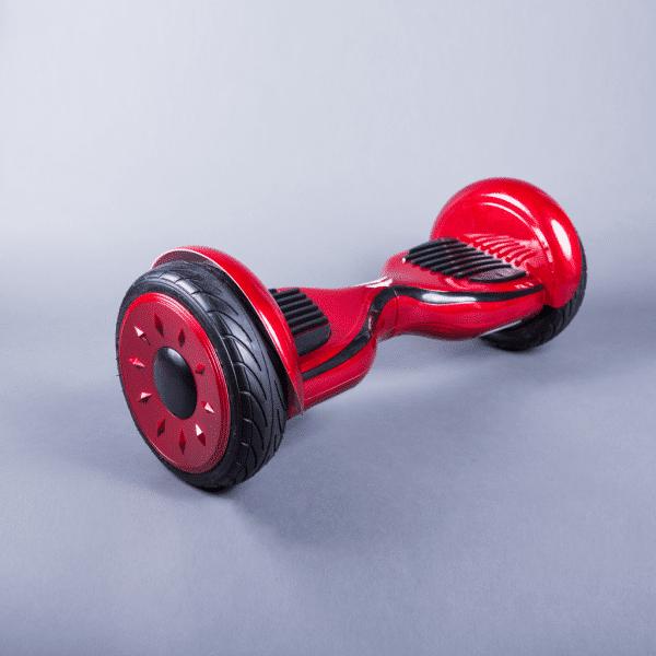 Hoverboard smart červená 10,5 palca bočná strana