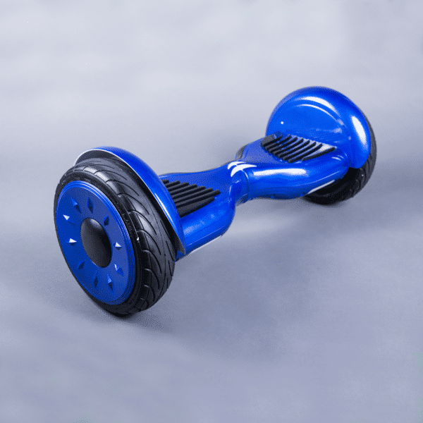 Hoverboard 10,5 palca novinka modrá bočná strana