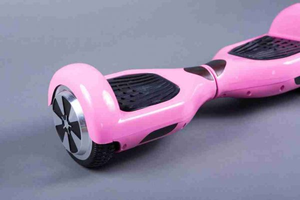 Hoverboard 6,5 dievčenská ružová bočná strana detail