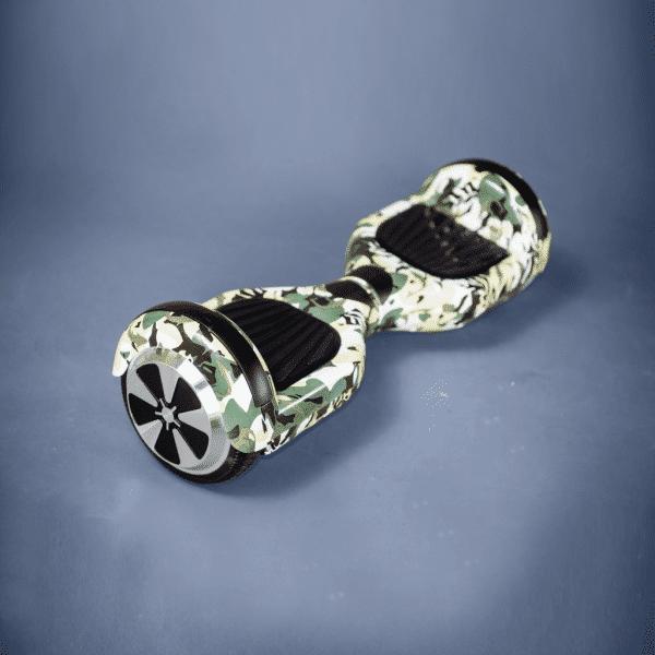 Hoverboard 6,5 palca maskáčový bočná strana