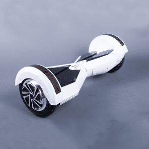 Hoverboard 8 palcov biely bočná strana