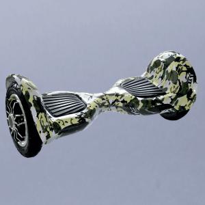 Hoverboard feetboard offroad maskáčový bočná strana