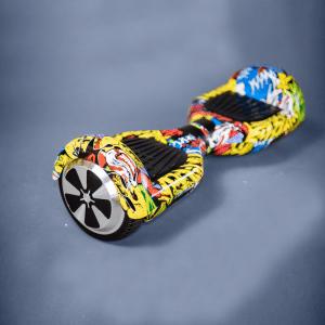 Hoverboard grafitti gyroboard bočná strana