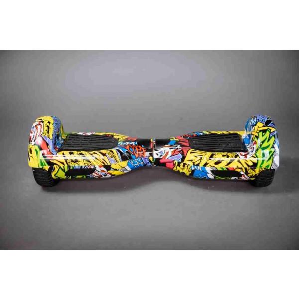 Hoverboard grafitti gyroboard predná strana