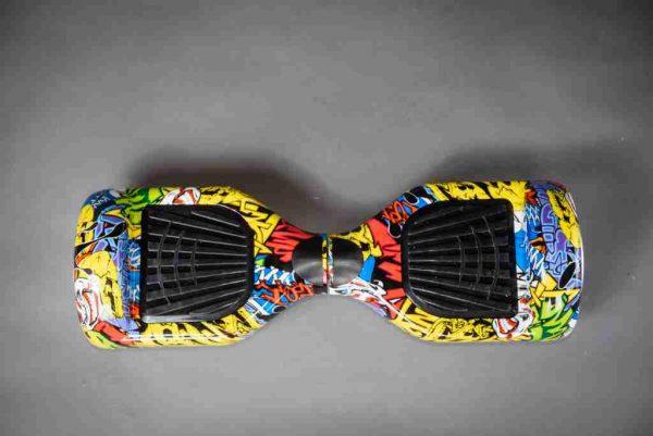 Hoverboard grafitti gyroboard vrchná strana