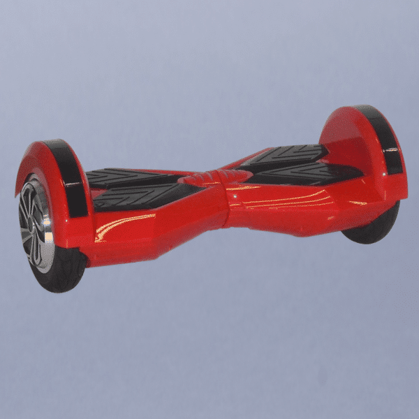 Hoverboard lamborghini 8 červený bočná strana ľavá